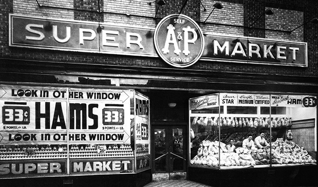 A&P Supermarket - Reading PA