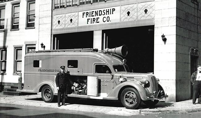 RFD Friendship Fire Co - Reading PA