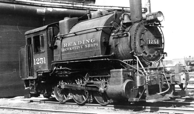 Reading Locomotive Shops - Reading PA